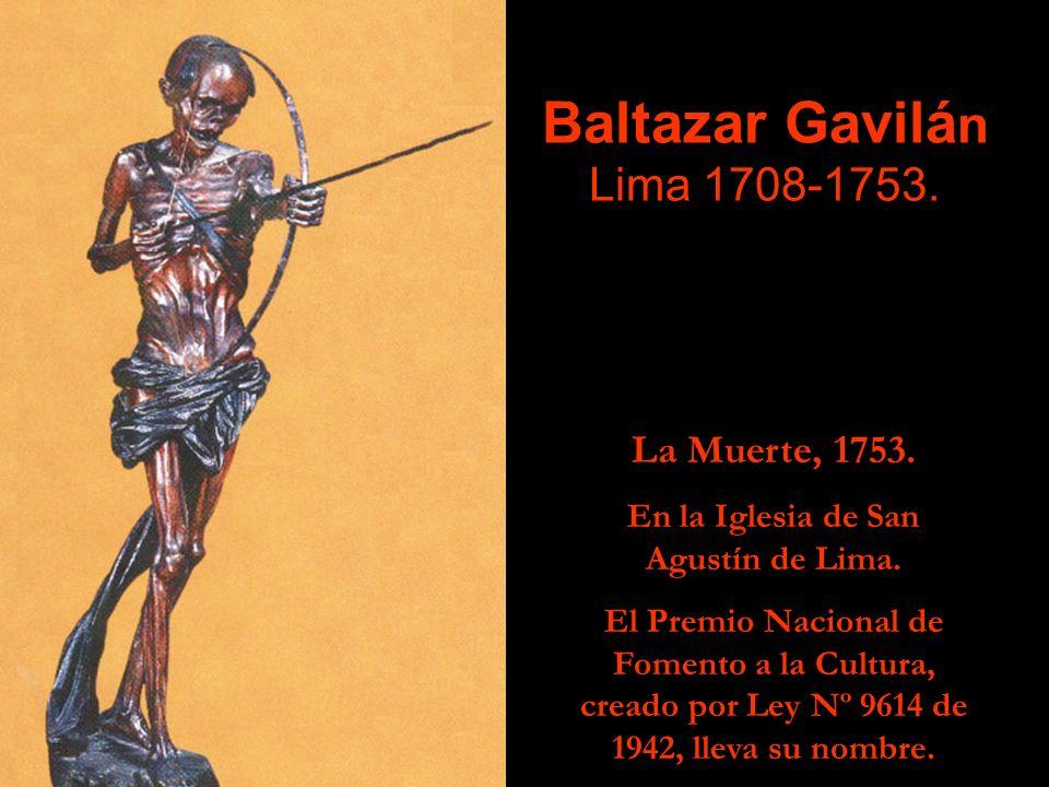 Juan Thomás TUYRU TÚPAC INGA, Cusco ¿ -1717? A este artista se le debe la talla del P ú lpito de la Iglesia de San Blas del Cusco; finalizado en 1696,