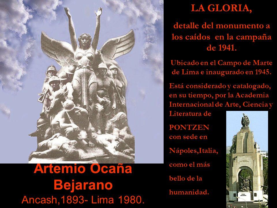 Artemio Ocaña Bejarano Ancash,1893- Lima 1980.