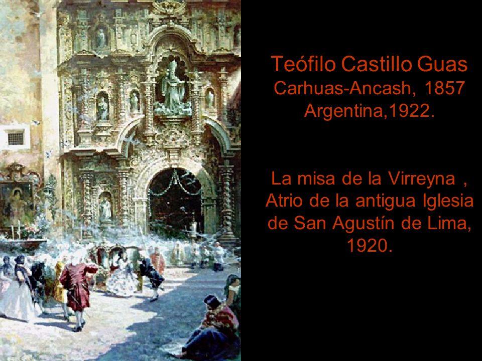 Daniel Hernández Morillo. Tayacaja, Huancavelica 1856, Lima 1932. La Dama del Abanico.