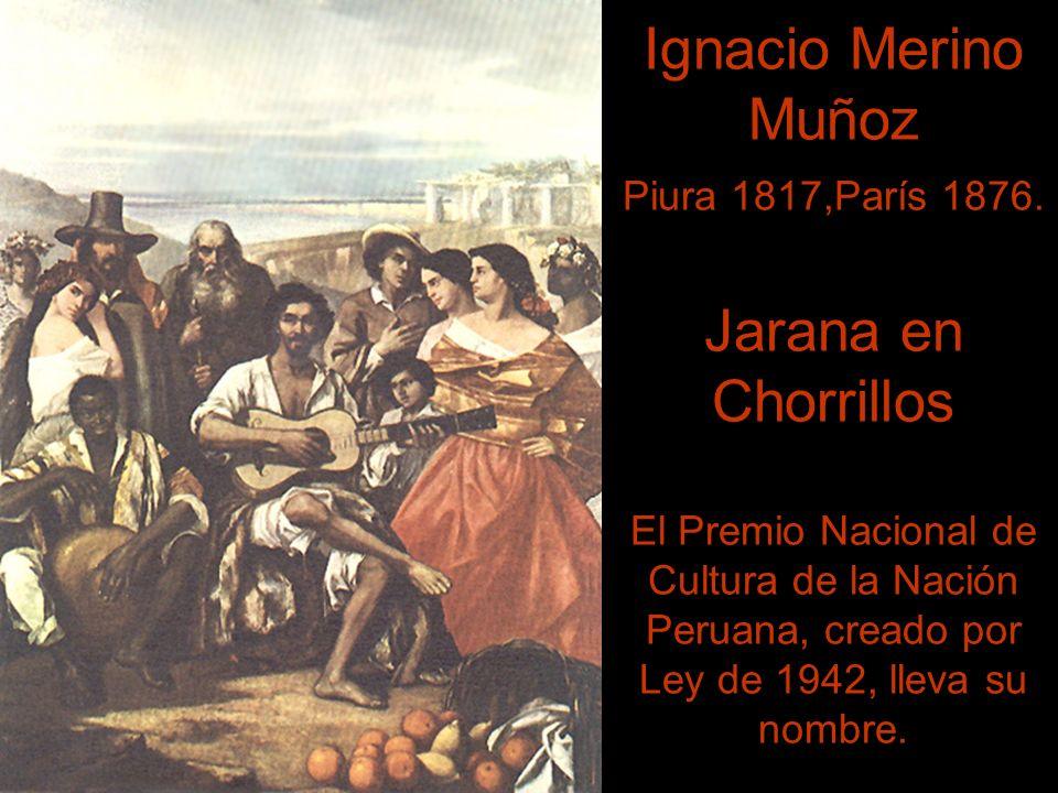 Ignacio Merino Muñoz Piura 1817,París 1876.