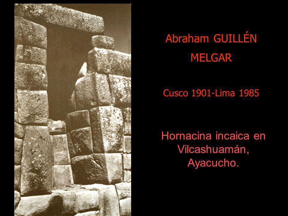 Hermanos Cabrera F iliberto Cusco 1899-1978. Crisanto Cusco 1904- Arequipa 1990. Cruz Velacuy, Cusco,1940. O vigilia de la Cruz, esta festividad se ll