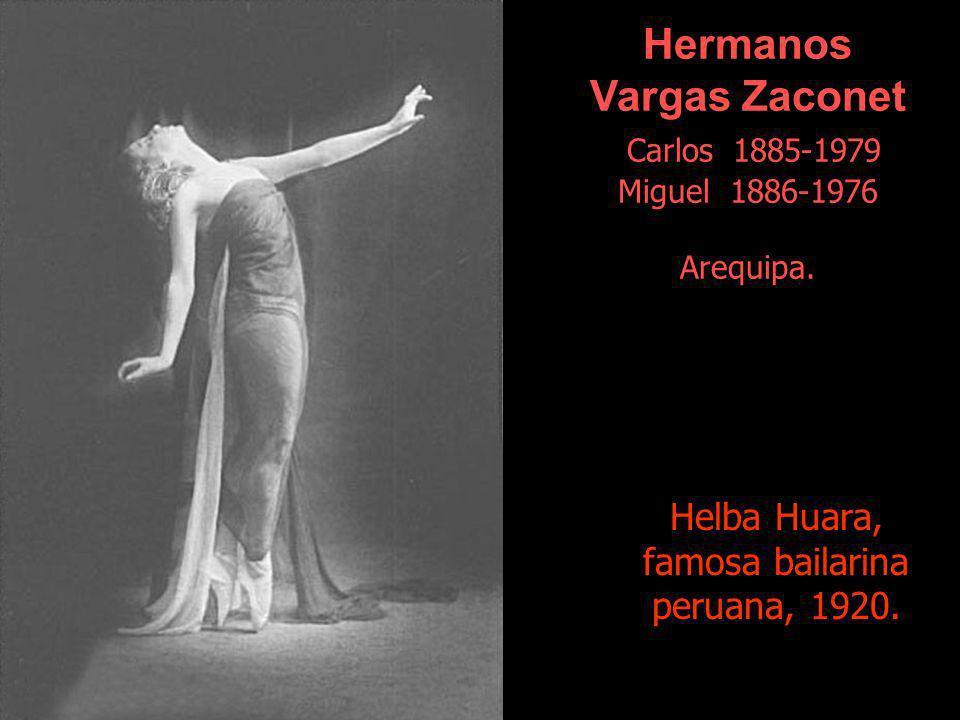 Hermanos Vargas Zaconet Carlos 1885-1979 Miguel 1886-1976 Arequipa.