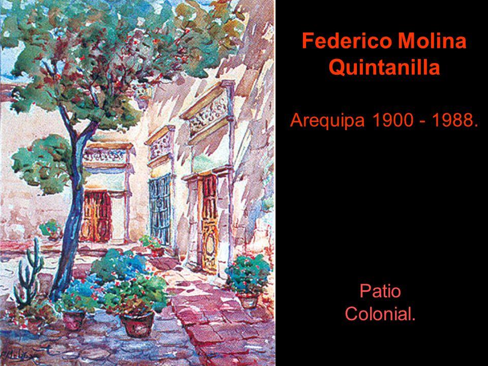 La Escuela de Bellas Artes de Iquitos, lleva su nombre. Víctor Morey Peña Yurimaguas 1900 - Iquitos 1965. Koya - La Reina - 1924.