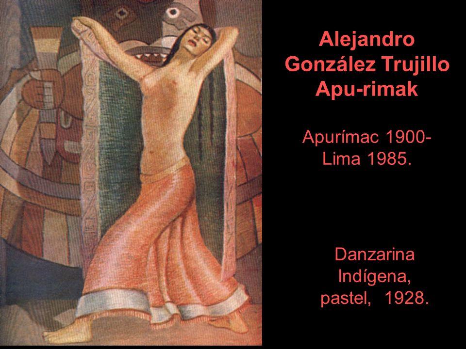 Fiesta en el valle 1952. Carlos Quizpez Asín Mas Lima, 1900-1983.