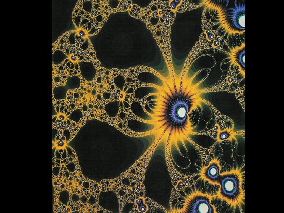 Las formas extrañas y caóticas de los fractales describen fenómenos naturales como los sismos, el desarrollo de los árboles, la forma de algunas raíces, la línea de la costa marítima,las nubes...