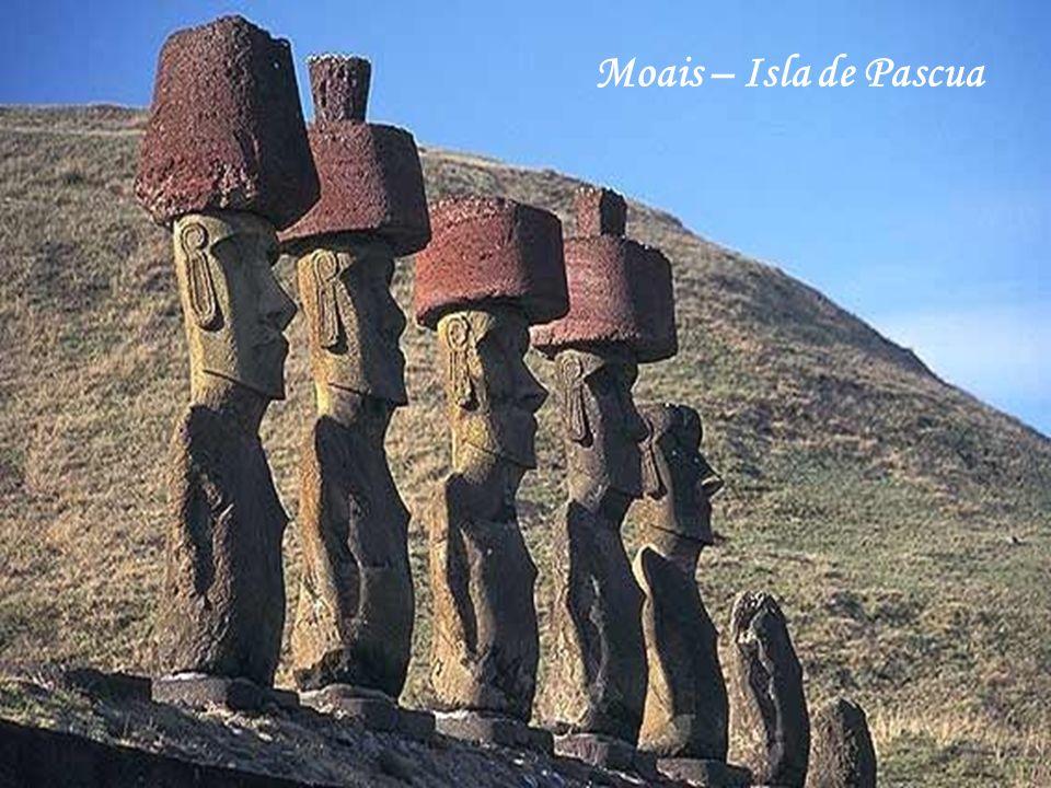 Moais – Isla de Pascua