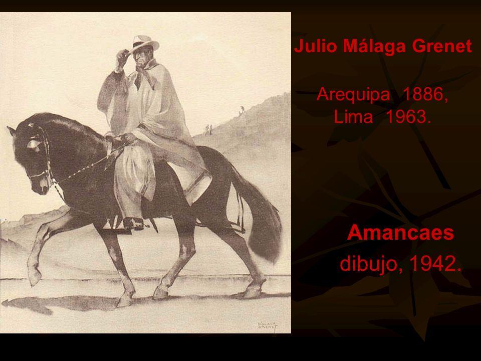 Julia Codesido Estenós Lima, 1883-1979. Jefe Indio o el Varayoc.