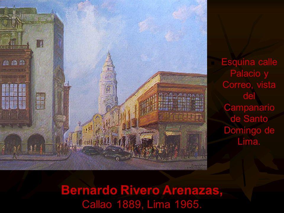 Felipe Cossio del Pomar Morropón - Piura 1888, Lima 1981. Bella Dama