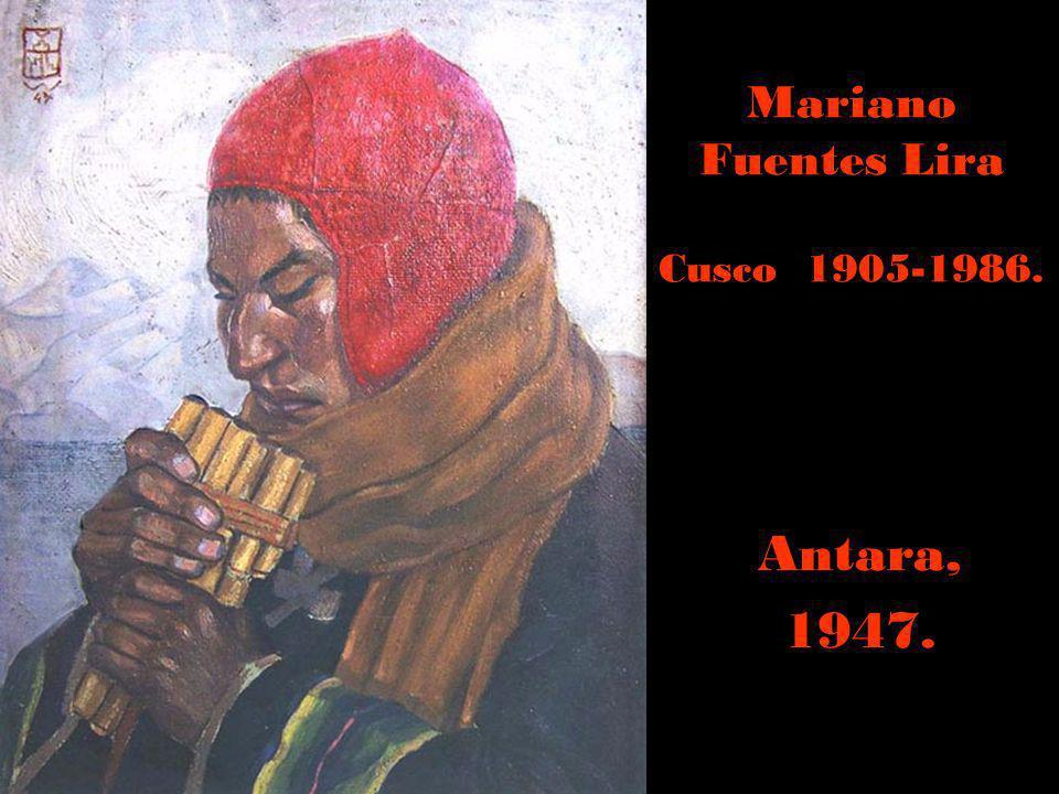 Camilo Blas Seudónimo de Alfonso Sánchez Urteaga Cajamarca 1903 - Lima 1985. Procesión Señor de los Milagros.