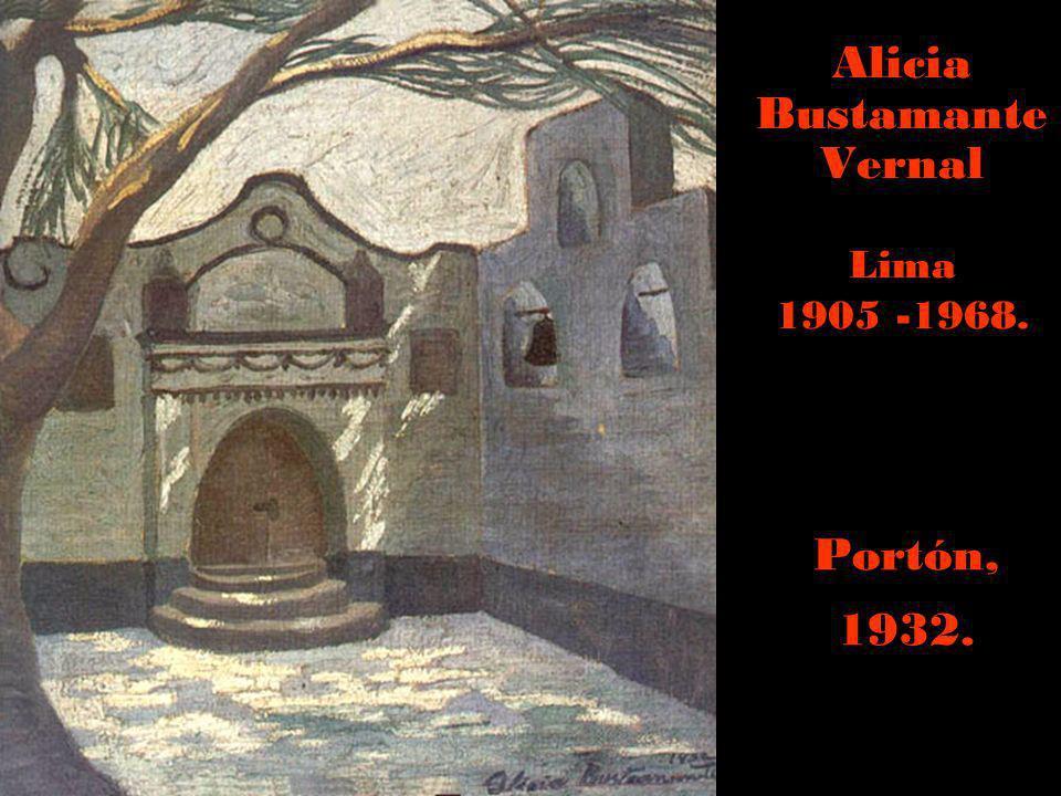 Mariano Fuentes Lira Cusco 1905-1986. Antara, 1947.