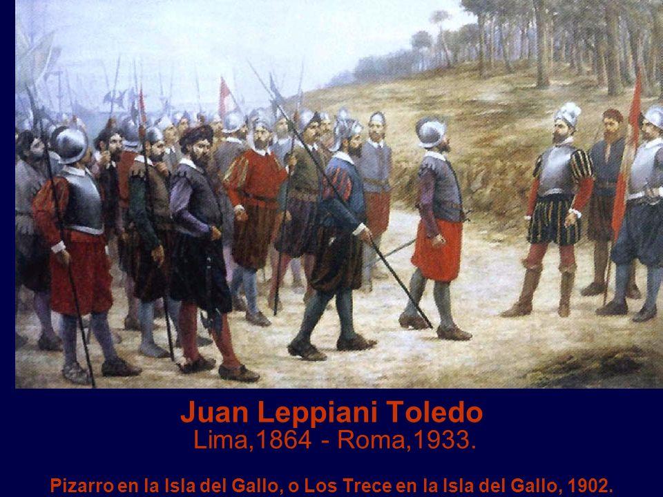 Juan Leppiani Toledo Lima,1864 - Roma,1933.
