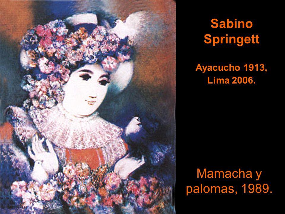 Alberto Dávila Zavala Trujillo 1912- Lima 1988. Composición, 1964.