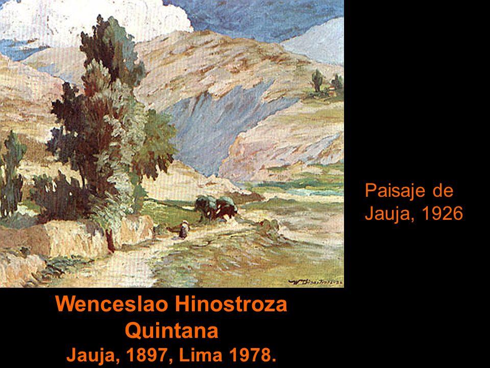 Casimiro Cuadros Cuadros Arequipa,1897-1986. El Guardián de los Huilca. Pinacoteca Municipal de Arequipa
