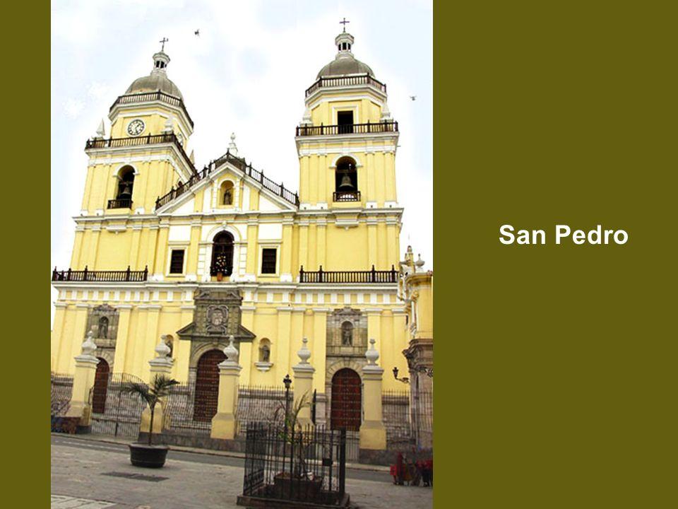 Santa Rosa de Lima, esc. de M. Caffa en el Iglesia de Santo Domingo
