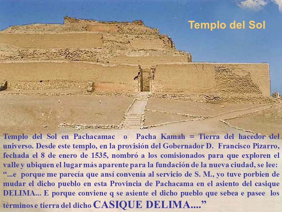 Templos en Lima-Per ú Presentación Nº 14 Gabriela Lavarello de Velaochaga-mayo 2008