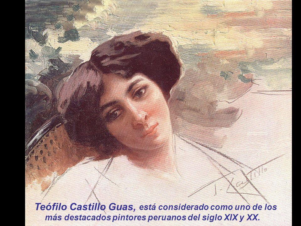 Eximio colorista, de fina y rica paleta, magníficos retratos salieron de su mano. Según Jorge Basadre...La Dirección de la Biblioteca Nacional de Lima