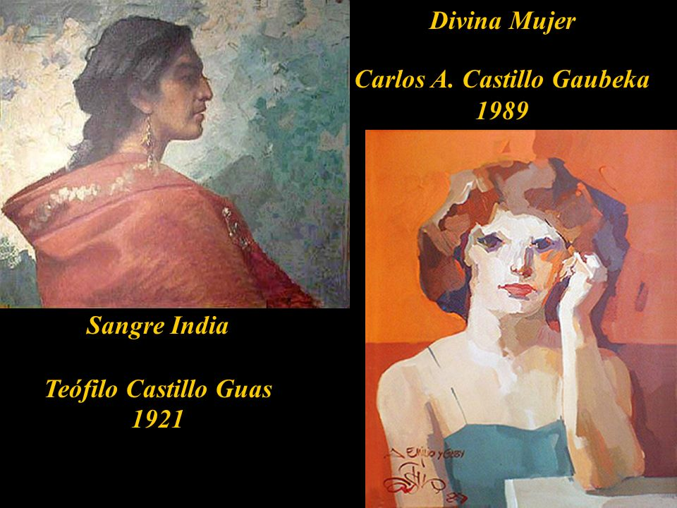 Teófilo Castillo Guas Carhuaz, 1857- Tucumán 1922. Carlos Aitor Castillo Gaubeka Lima, 1913-2000.