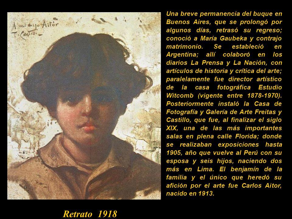 Pintor, fotógrafo y crítico de arte. En Lima estudió con el pintor franco-cubano Louis Boudat hasta 1884. En 1885 viajó a Europa permaneciendo por alg