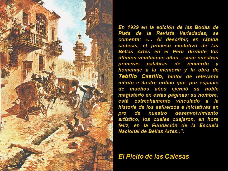 En 1929 en la edición de las Bodas de Plata de la Revista Variedades, se comenta: «...