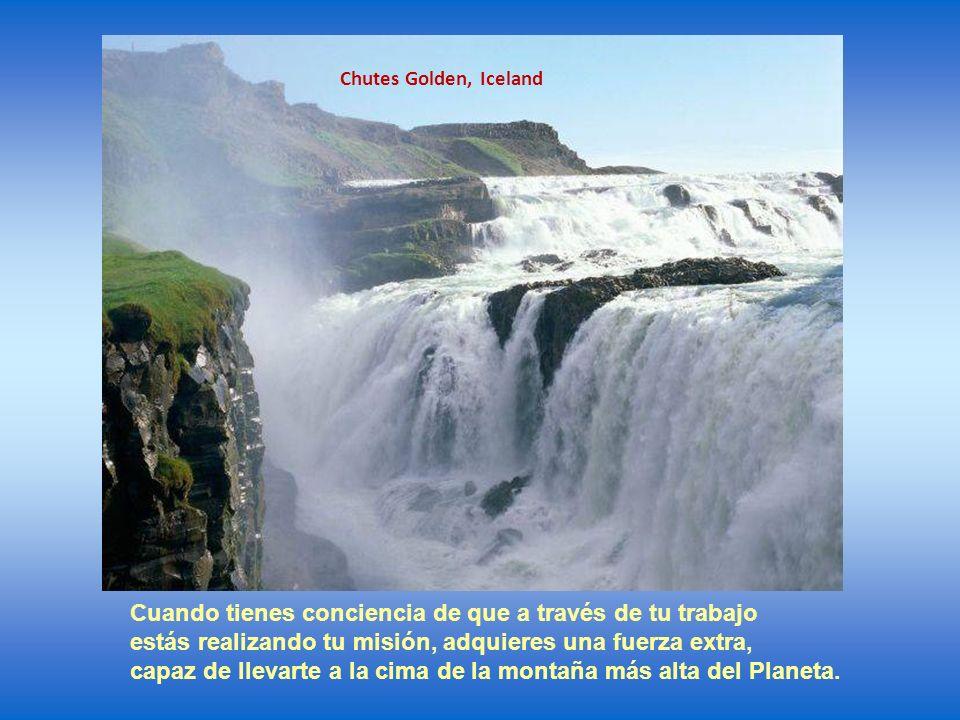 Chutes les 4 Cascades, Jamaique La respuesta es una sola: la conciencia de su misión en esta vida.