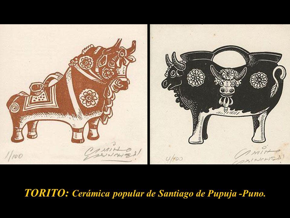 Mate burilado, 1959....grabado donde el artista nos da la versi ó n literal ampliada y enriquecida por su depurada t é cnica de grabador, y el h á bil