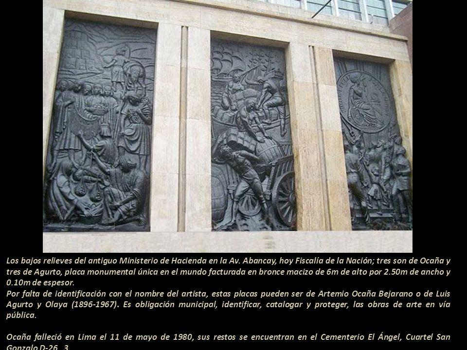 Sin ser modificada la arquitectura del monumento, ni las alegorías que son de Querol; la figura del Coronel Francisco Bolognesi, fue cambiada por un b