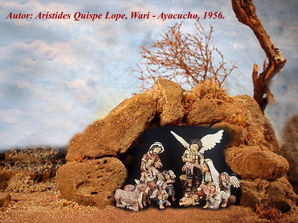 Autor: Nicario Jiménez Quispe, Ayacucho 1957 -