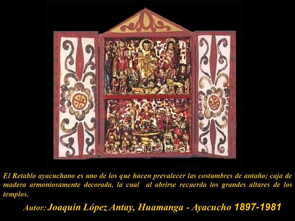 Con la conquista y colonización de América por los españoles, los sacerdotes utilizaron el retablo o altar portátil como recurso para catequizar a los