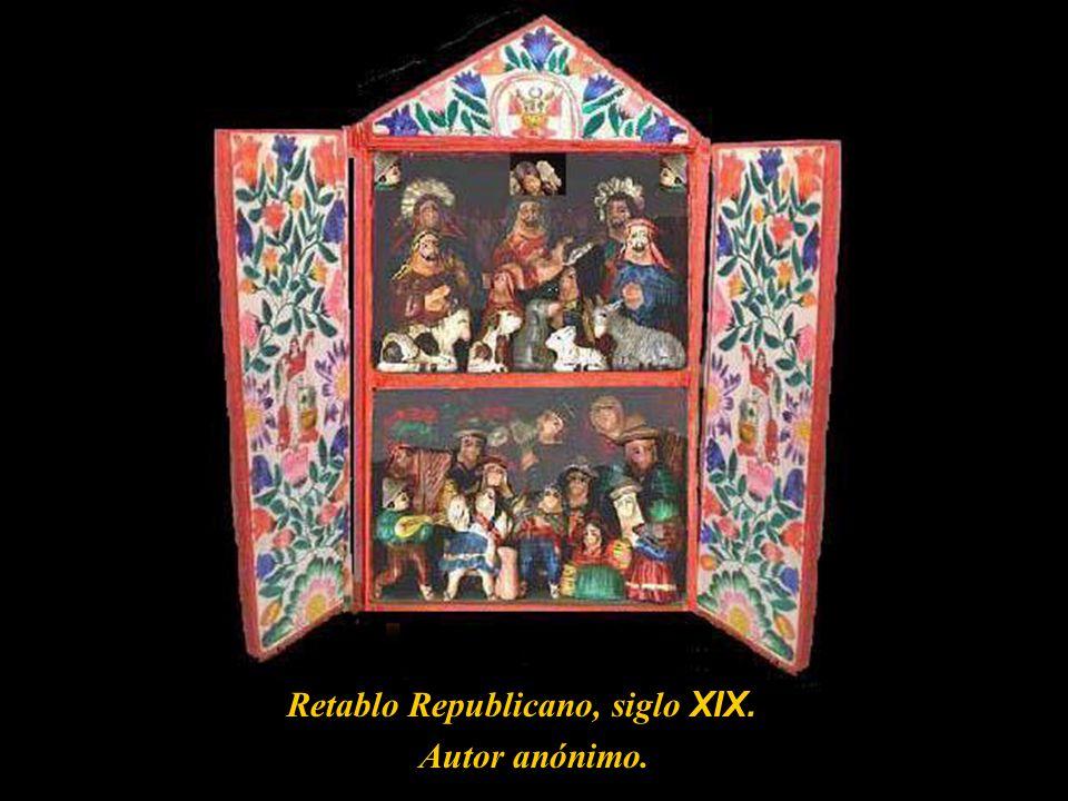 El Retablo ayacuchano es uno de los que hacen prevalecer las costumbres de antaño; caja de madera armoniosamente decorada, la cual al abrirse recuerda