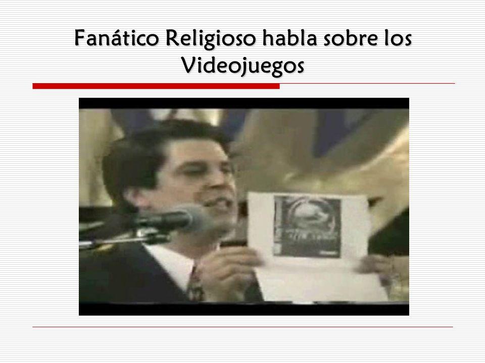 Fanático Religioso habla sobre los Videojuegos