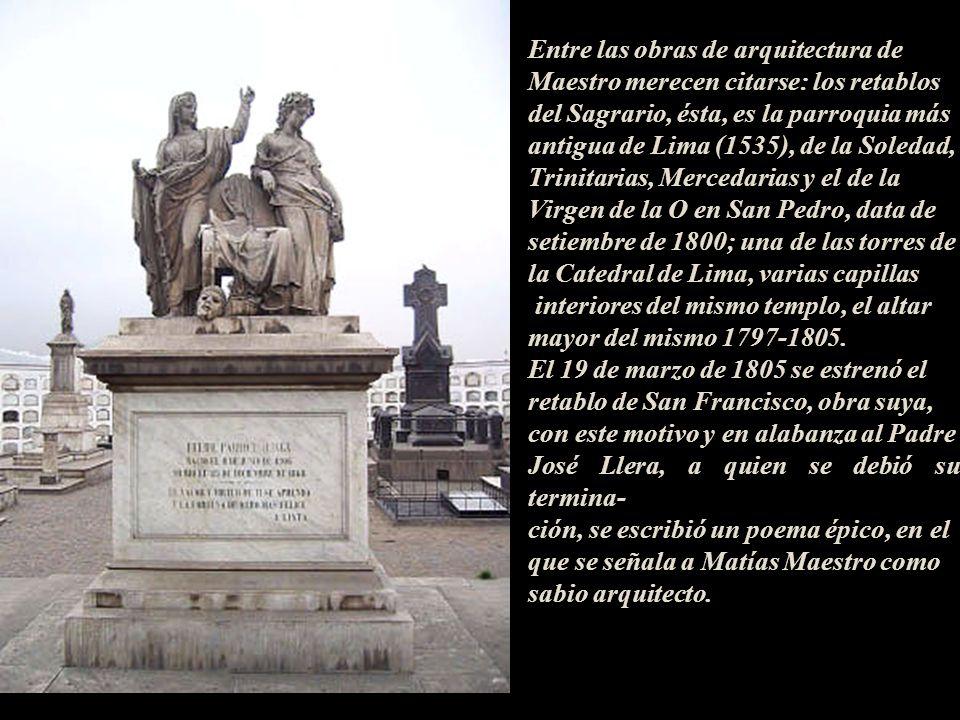 Matías Maestro, como personaje ilustre de la época, el 15 de julio de 1821 firmó el Acta Capitular de la Independencia ante Don Francisco Xavier Echag