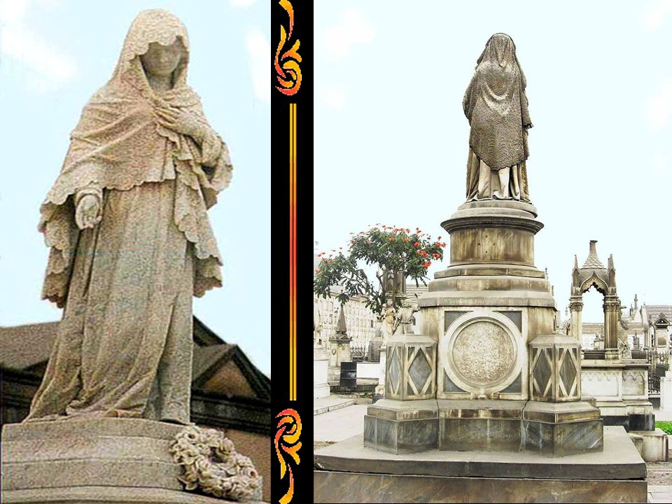 El Cementerio tenía tres tipos de entierros: sepulturas, nichos y osario. Las sepulturas estaban destinadas a personas distinguidas, los nichos para l