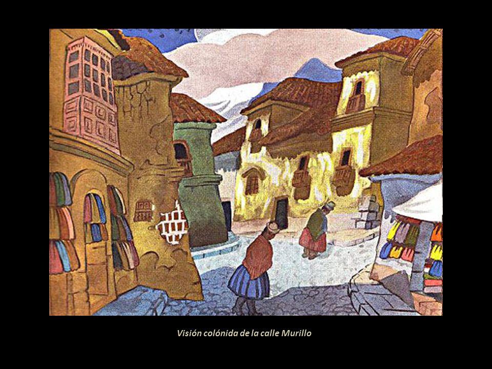 Calle colonial Cunti-Huyo, trazada por el alarife Juan Gutiérrez Paniagua, personero de don Juan Vencriel primer corregidor de La Paz Rincón colonial