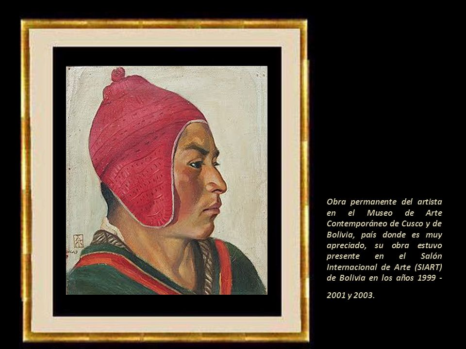 La muestra itinerante con sesenta obras escogidas de entre la prolífica producción del artista plástico cusqueño siguió a la Biblioteca Nacional en Li