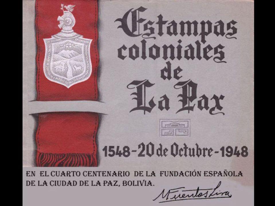 De reconocido prestigio en Bolivia, Fuentes Lira, fue designado en 1948, para exponer 15 obras para celebrar EL CUARTO CENTENARIO DE LA FUNDACIÓN ESPA