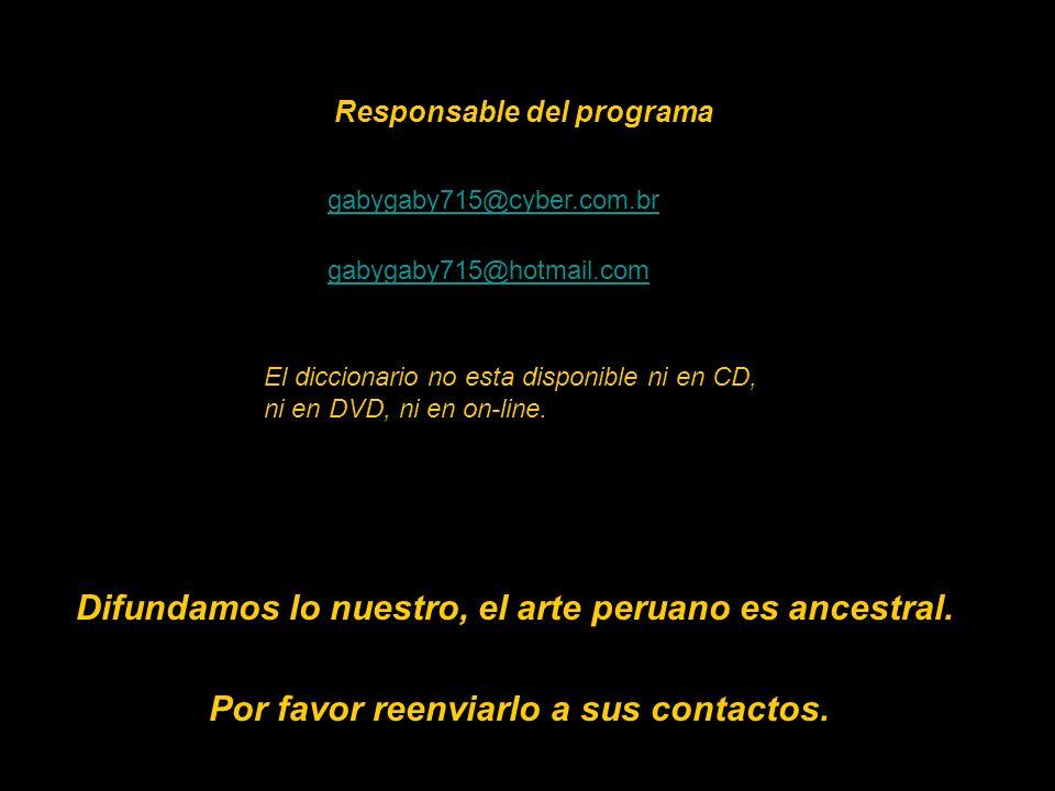 15 Disponible en el 422-6090-Lima-Perú marta couto revolledo diccionario715@hotmail.com En las librerías: Miraflores: Cultura Peruana-Salazar Vallejo;