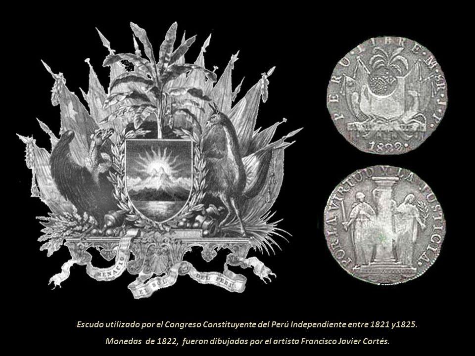 El 20 de setiembre de 1822 se instaló el Congreso; ese mismo día el general San Martín asistió ante sus miembros y presentó su renuncia al protec- tor