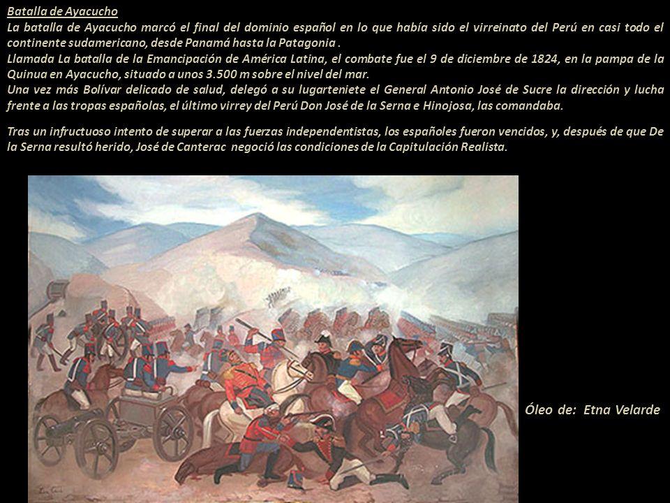 Bolívar, afectado por su antigua tuberculosis, se instaló al norte de Lima en Pativilca donde estableció su cuartel general y empezó a organizar su ca