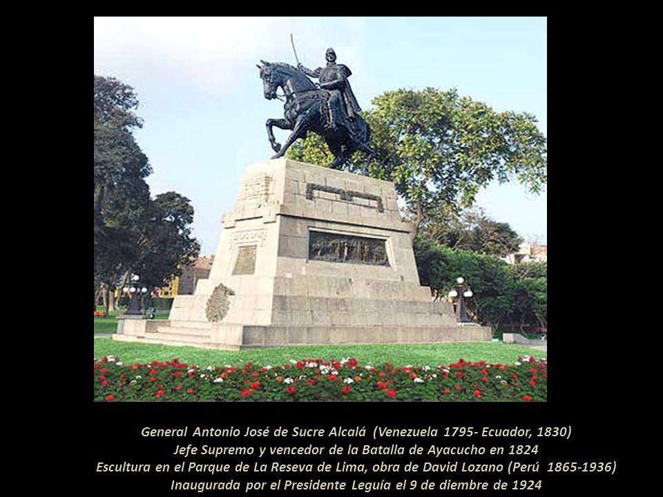 Firma de la Capitulación de Ayacucho, 9 de diciembre de 1824. Por el lado realista lo hizo el Jefe de Estado Mayor José de Canterac y por los Independ