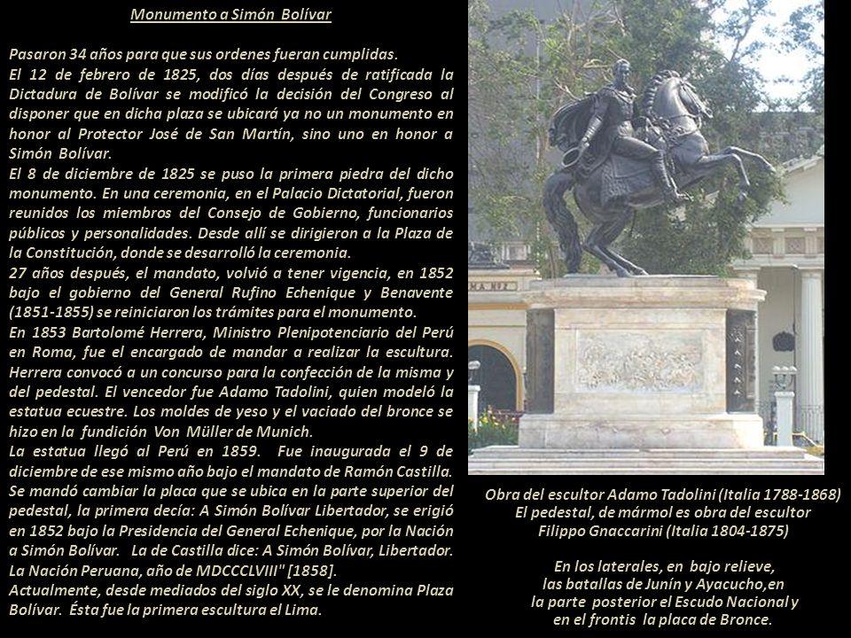 General Antonio José de Sucre Alcalá (Venezuela 1795- Ecuador, 1830) Jefe Supremo y vencedor de la Batalla de Ayacucho en 1824 Escultura en el Parque