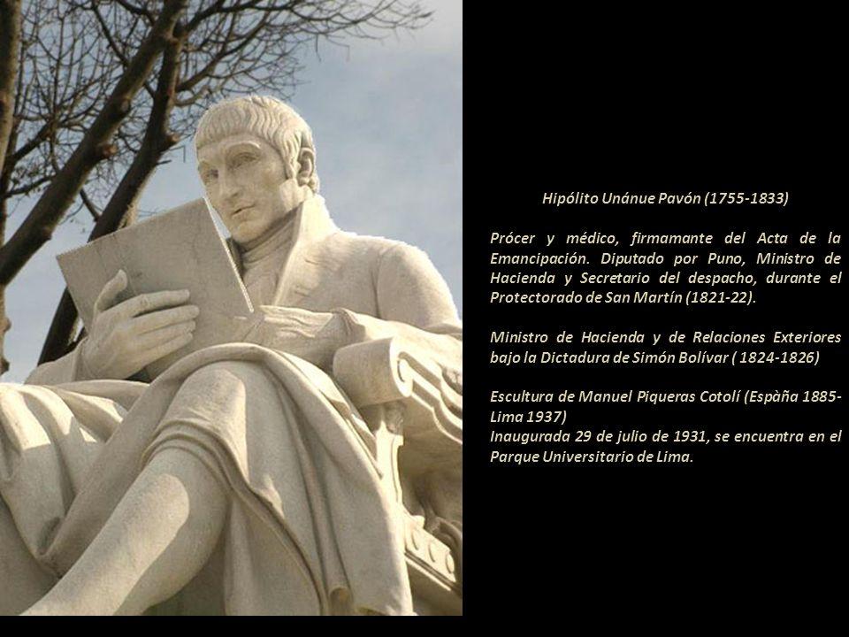 Obra del escultor Adamo Tadolini (Italia 1788-1868) Fotografía: cortesía de Carlos J. Mariátegui H