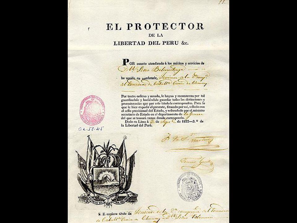 Hipólito Unánue Pavón (1755-1833) Prócer y médico, firmamante del Acta de la Emancipación. Diputado por Puno, Ministro de Hacienda y Secretario del de