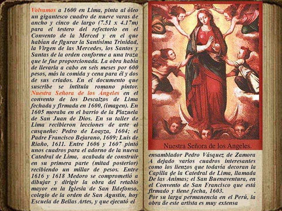 Pintor. Nació en Nápoles y falleció en Sevilla. Figura en los registros del Almanaque Mundial entre los pintores peruanos. Algunos historiadores lo ub