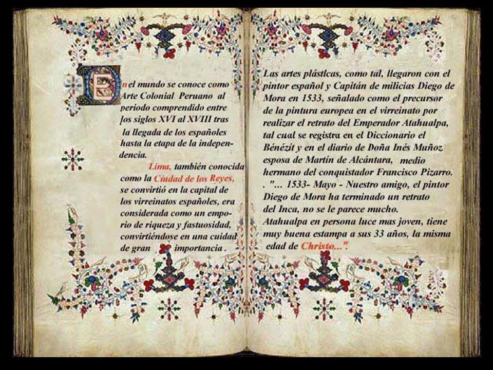 A rte Colonial Peruano Escuela Italiana siglos XVI y XVII Presentación Nº 44 Gabriela Lavarello de Velaochaga (Perú) mayo 2010.