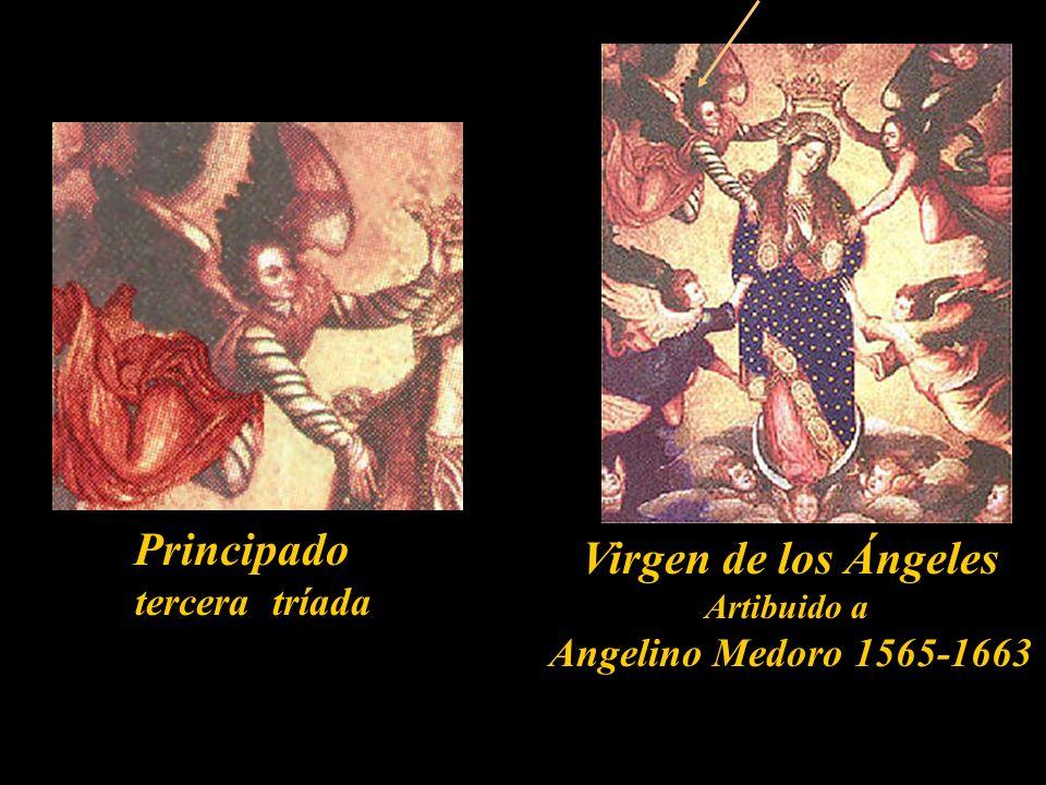 Potestad segunda tríada La Sagrada Familia Anónimo siglo XVIII