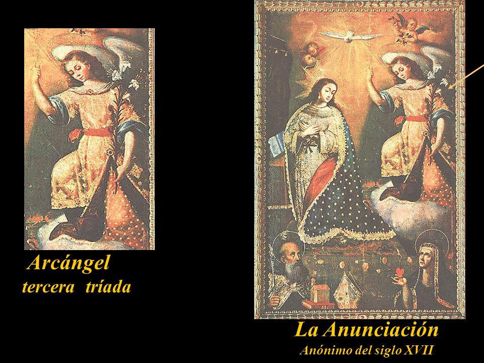 Principado tercera tríada Virgen de los Ángeles Artibuido a Angelino Medoro 1565-1663