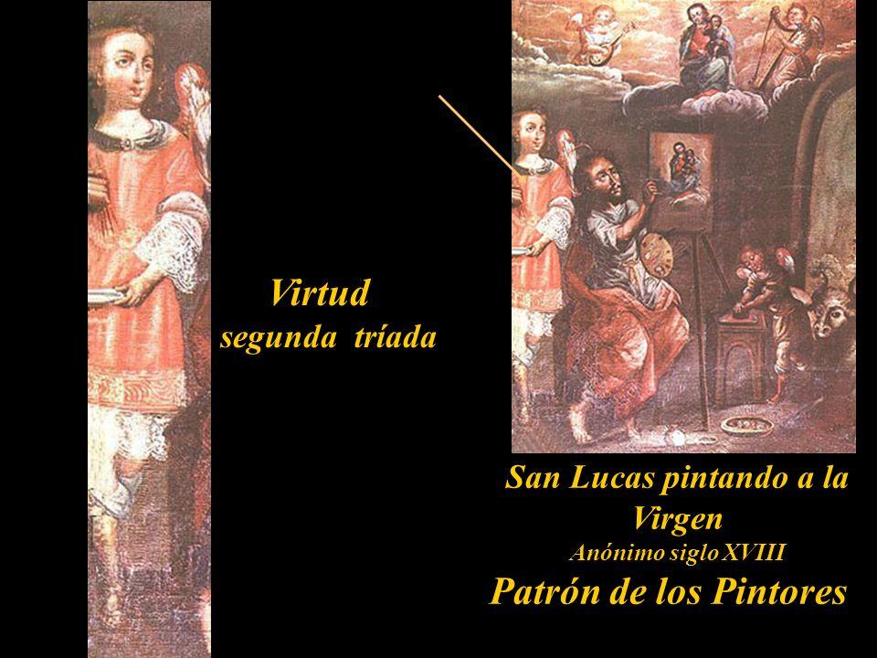 Dominación segunda tríada Inmaculada Siglo XVII Colección Barbosa-Stern