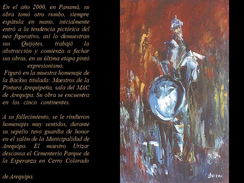 Patio Colonial -Arequipa Hasta el 2010 realizó más de 70 individuales en diferentes países, destacando: Galería Cultural Peruano Norteamericano de Are
