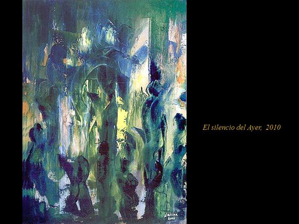 En el año 2000, en Panamá, su obra tomó otro rumbo, siempre espátula en mano, inicialmente entró a la tendencia pictórica del neo figurativo, así lo d