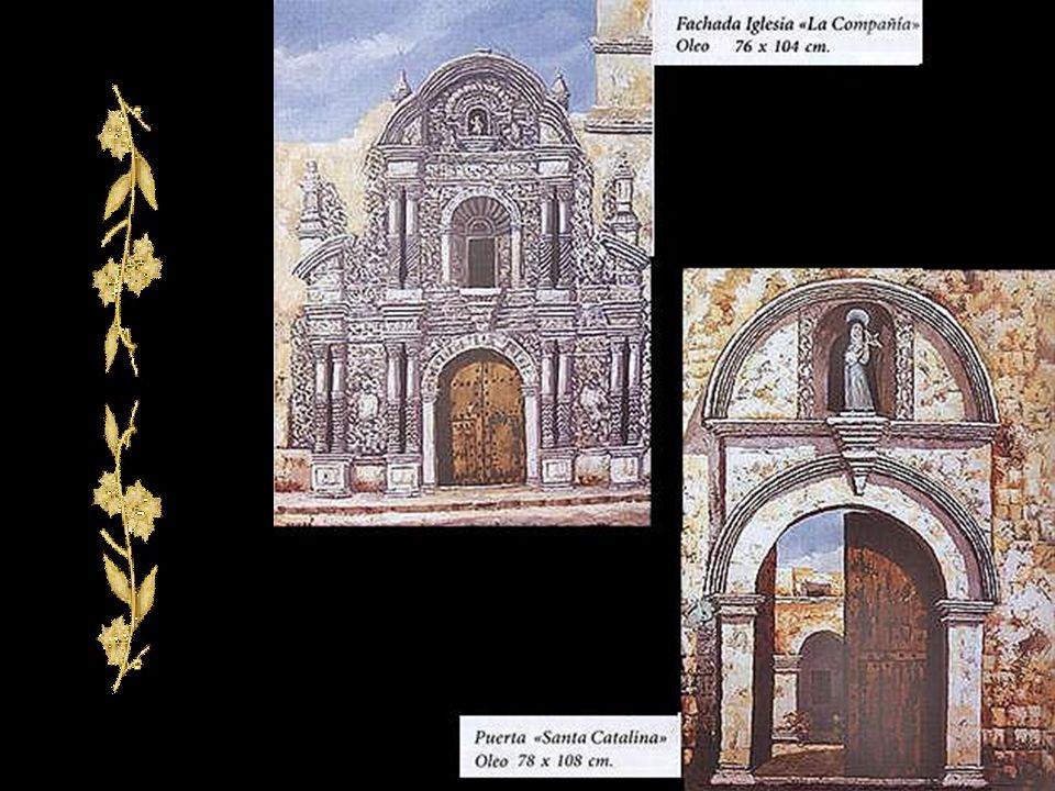 Molino Blanco - Arequipa Iglesia de San Lazaro - Arequipa